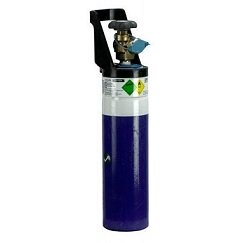 ryval 2 litre welding gas cylinder